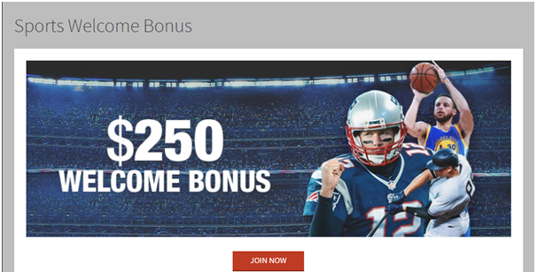 Sports bonus at Bovada casino