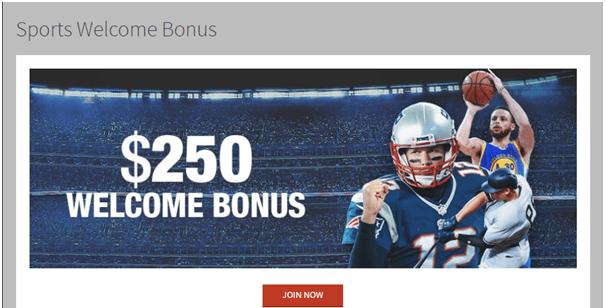 Sports bonus at Bovada casino