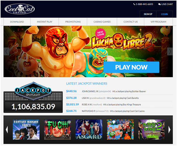 Cool Cat Casino No Deposit