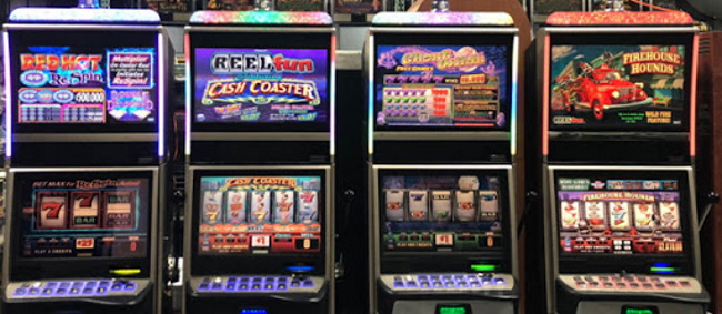 Different types of reels on slots
