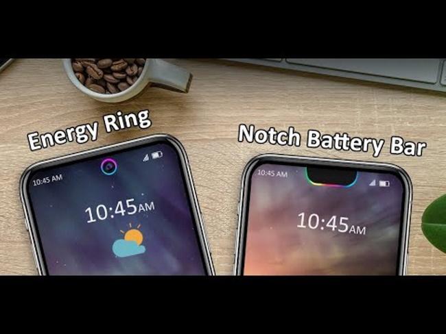 Energy Ring and Energy Bar