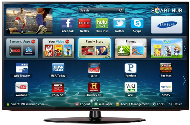Four awesome things you can do with your Samsung Smart TV