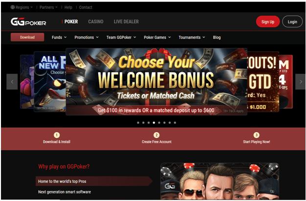 GG poker app
