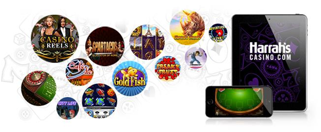 Games to play at Harrah's online casino