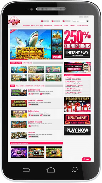 How to get started at Slots of Vegas?