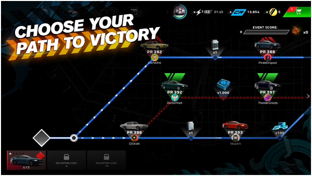 How to play Forza Street and win the game