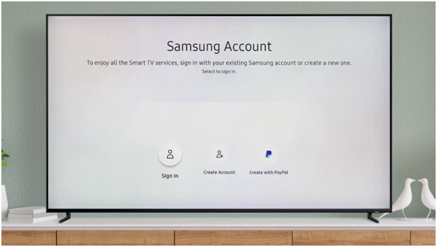 How to sign up for your Samsung Account