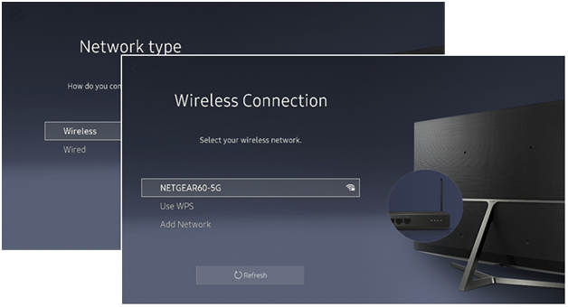 How to connect to the internet on Samsung Smart TV