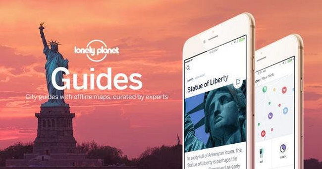 Lonely Planet apps