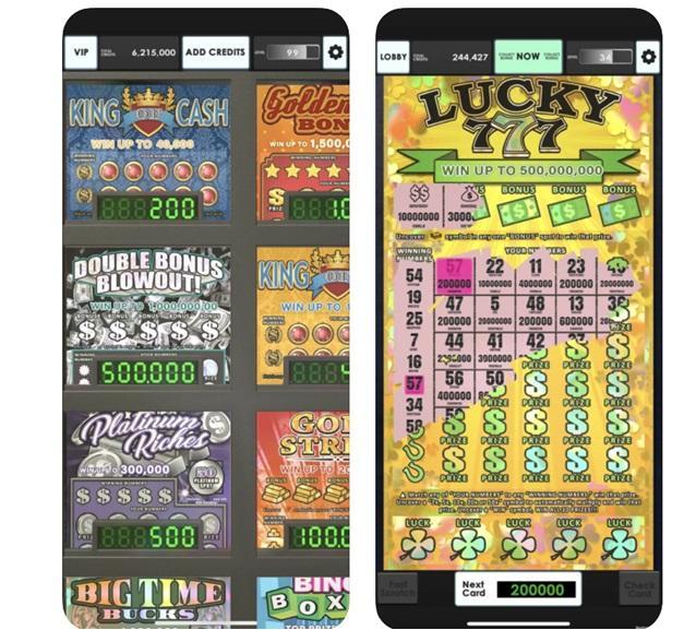 Lucky Lottery scratchers app