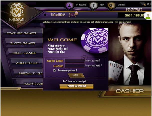 Miami Club Casino- Play with Samsung Android