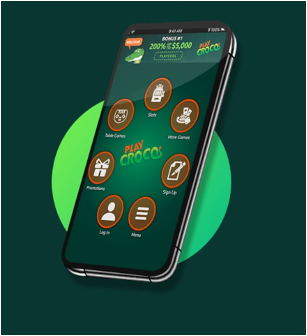 Play Croco Mobile Casino