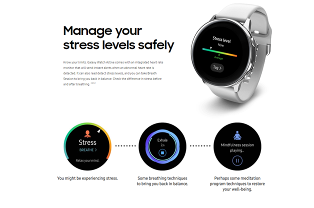 Galaxy watch active fitness apps