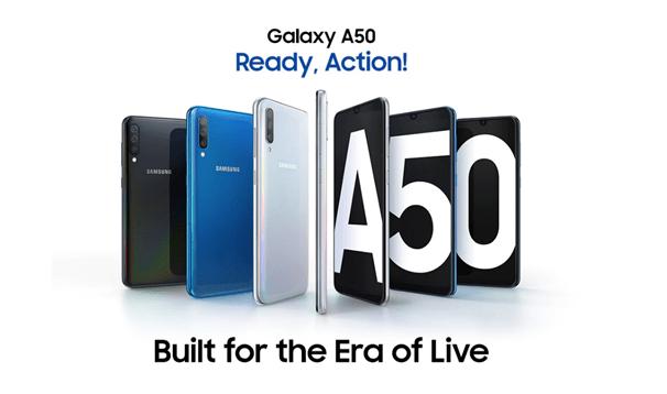Samsung Galaxy A50 free games
