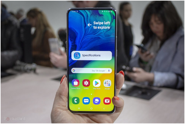 Samsung Galaxy A80 phone