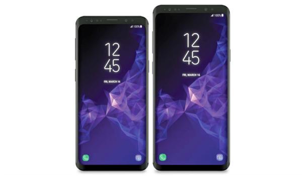 Samsung Galaxy S9 and S9 plus- Design