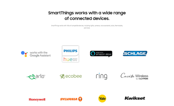 Smart things connected devices