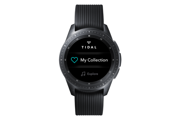 Samsung tidal app for wearables