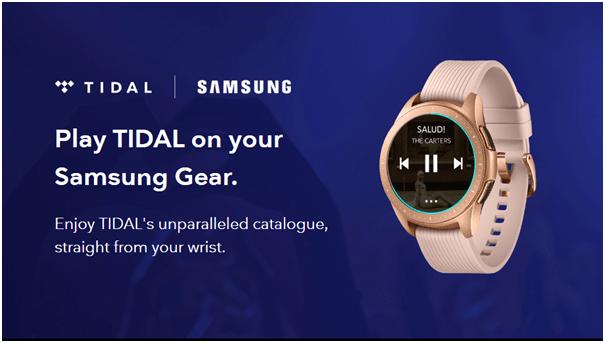 Samsung Tidal app