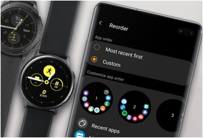 Samsung wearable products also lets you earn points