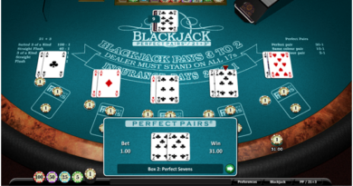 Side bets in the game of Blackjack