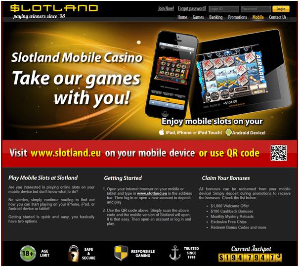 Slotland Casino US