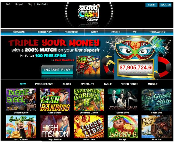 SlotoCash Casino US