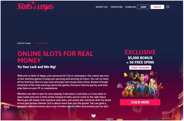 Slots of Vegas is filled with bonuses and promotions. These offers mostly come in the form of bonus codes to redeem.