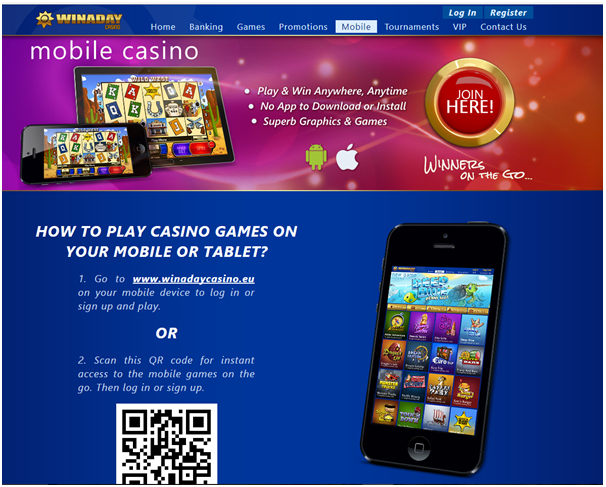 Win A Day Casino- Samsung Slots