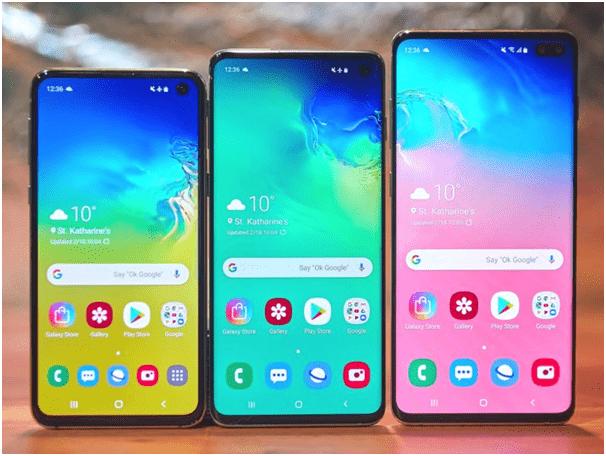 Reset Smartphone Samsung S10